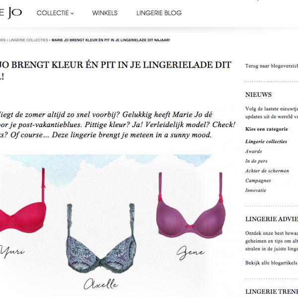 Marie Jo blog