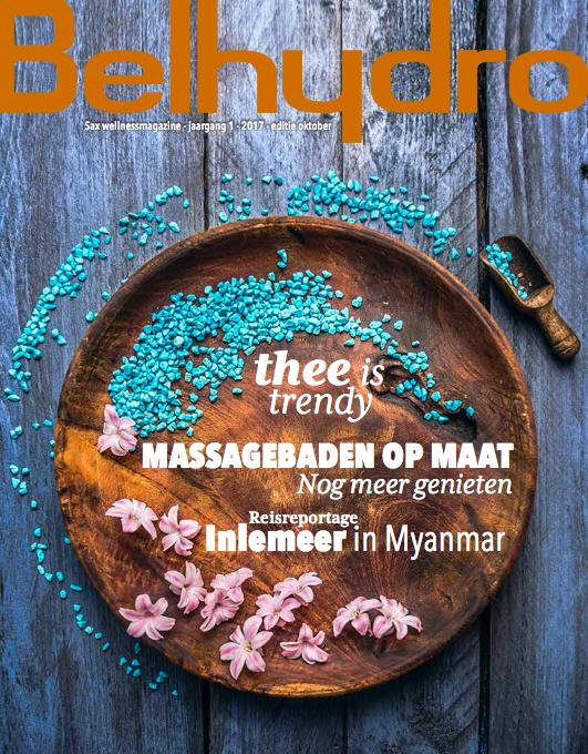 Content en copywriting voor Belhydro wellnessmagazine